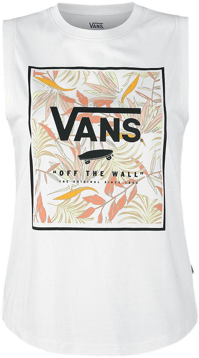 Image of   Vans Cali Floral Muscle Girlie top hvid