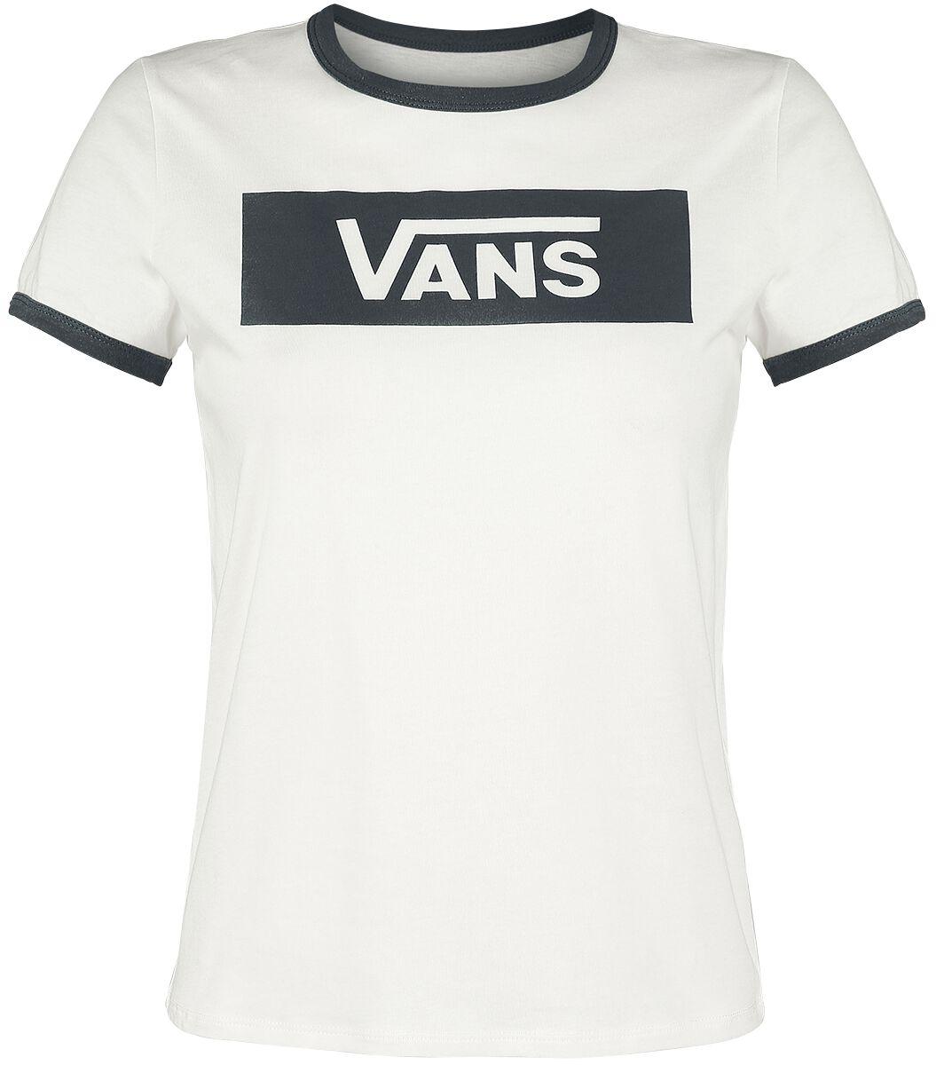 Image of   Vans Open Road Girlie trøje hvid-sort
