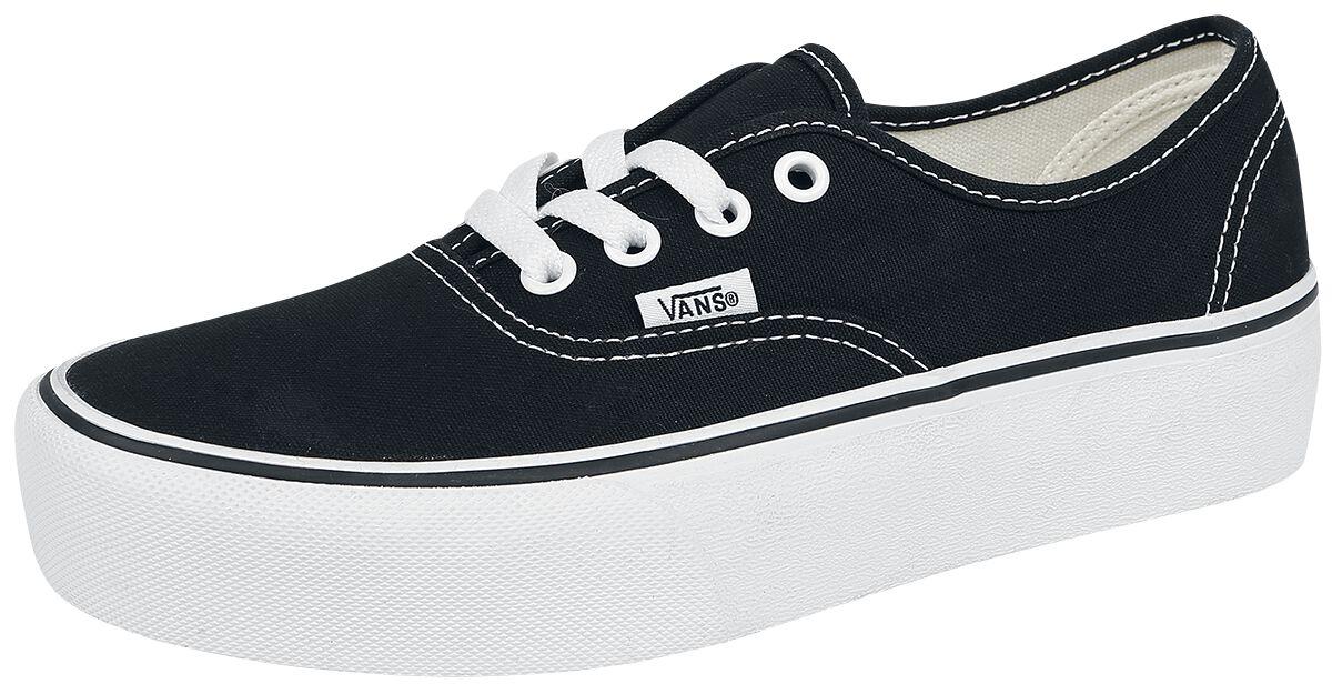 Image of   Vans Old Skool Platform Sneakers sort-sort