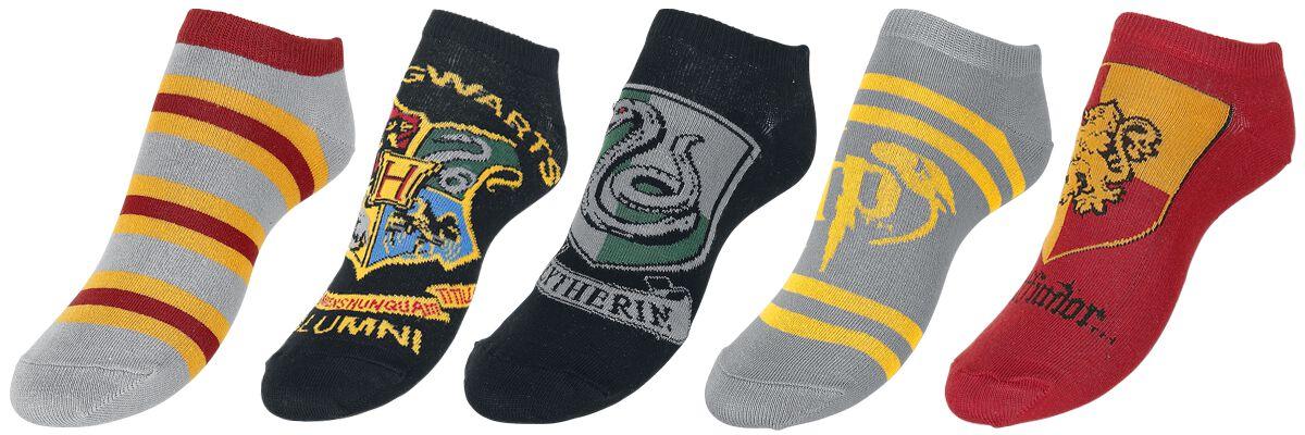Image of   Harry Potter Crest Sokker multifarvet