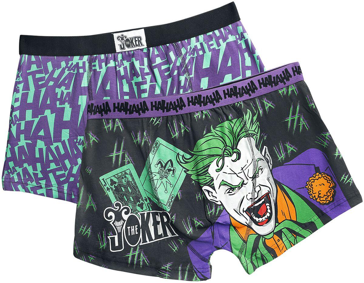 Merch dla Fanów - Bielizna - Bokserki The Joker Hahaha Bokserki wielokolorowy - 363251