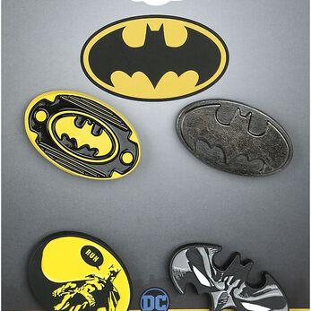 Batman Logos Lot de pin's multicolore
