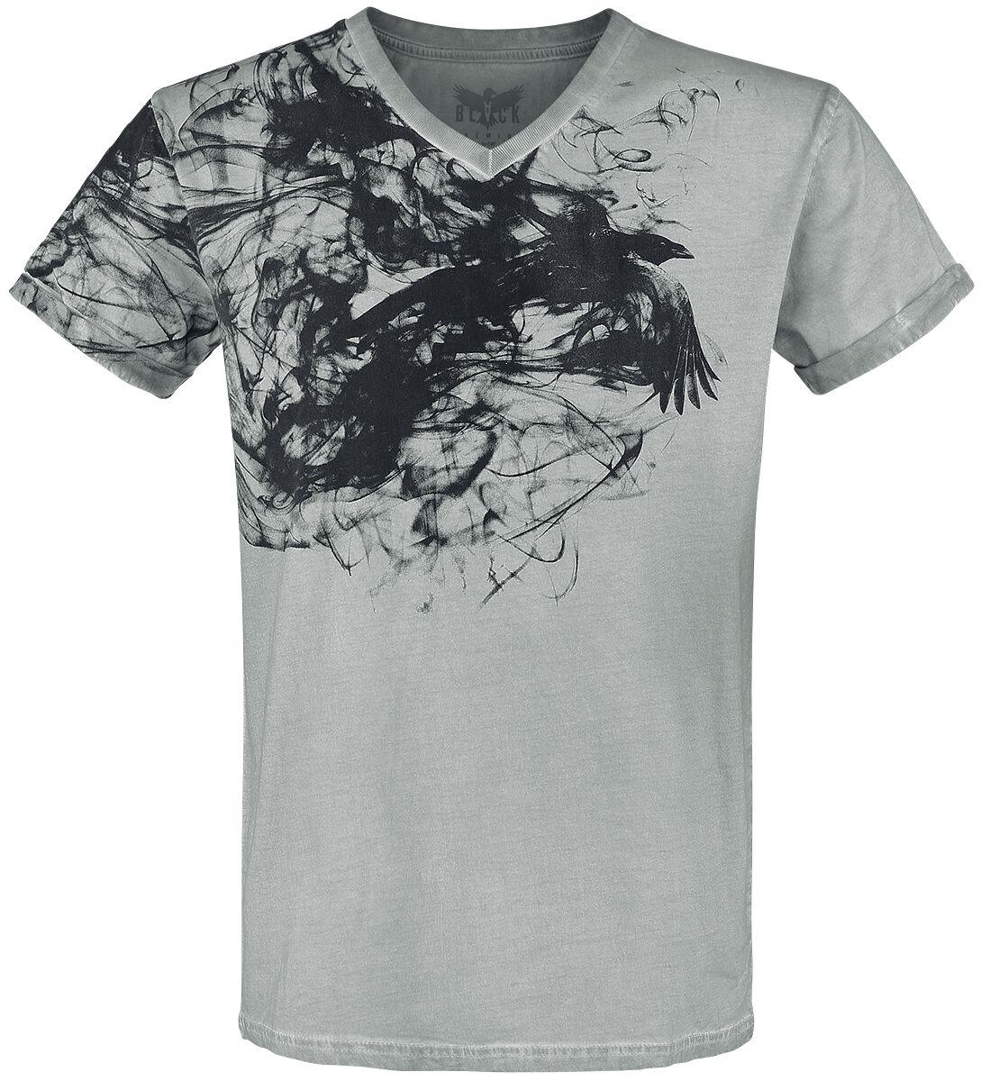 Image of   Black Premium by EMP Bleeding T-Shirt grå