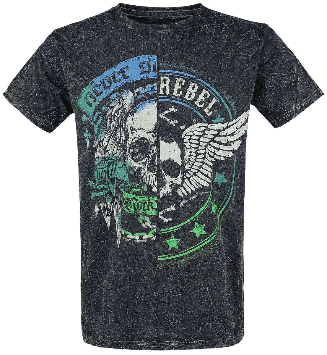 Image of   Rock Rebel by EMP Come Together T-Shirt sort