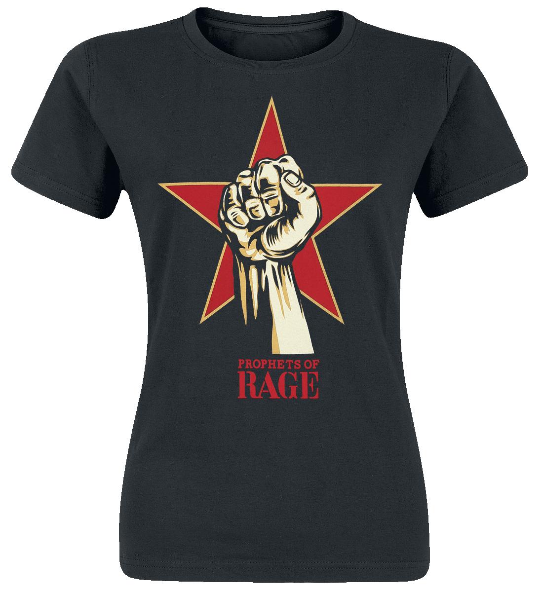 Prophets Of Rage Power Fist Koszulka damska czarny