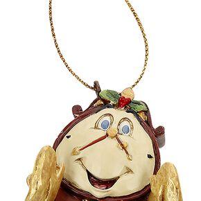 La Belle Et La Bête Cogsworth Boule de Noël Standard