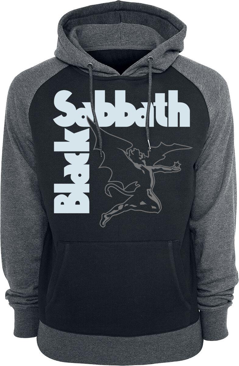 Image of   Black Sabbath Creature Hættetrøje sort-grå