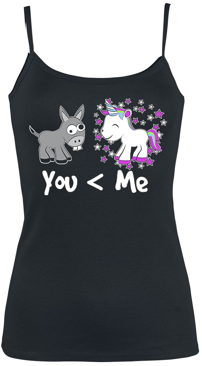Fun Shirts - Topy - Top damski You And Me Top damski czarny - 363533