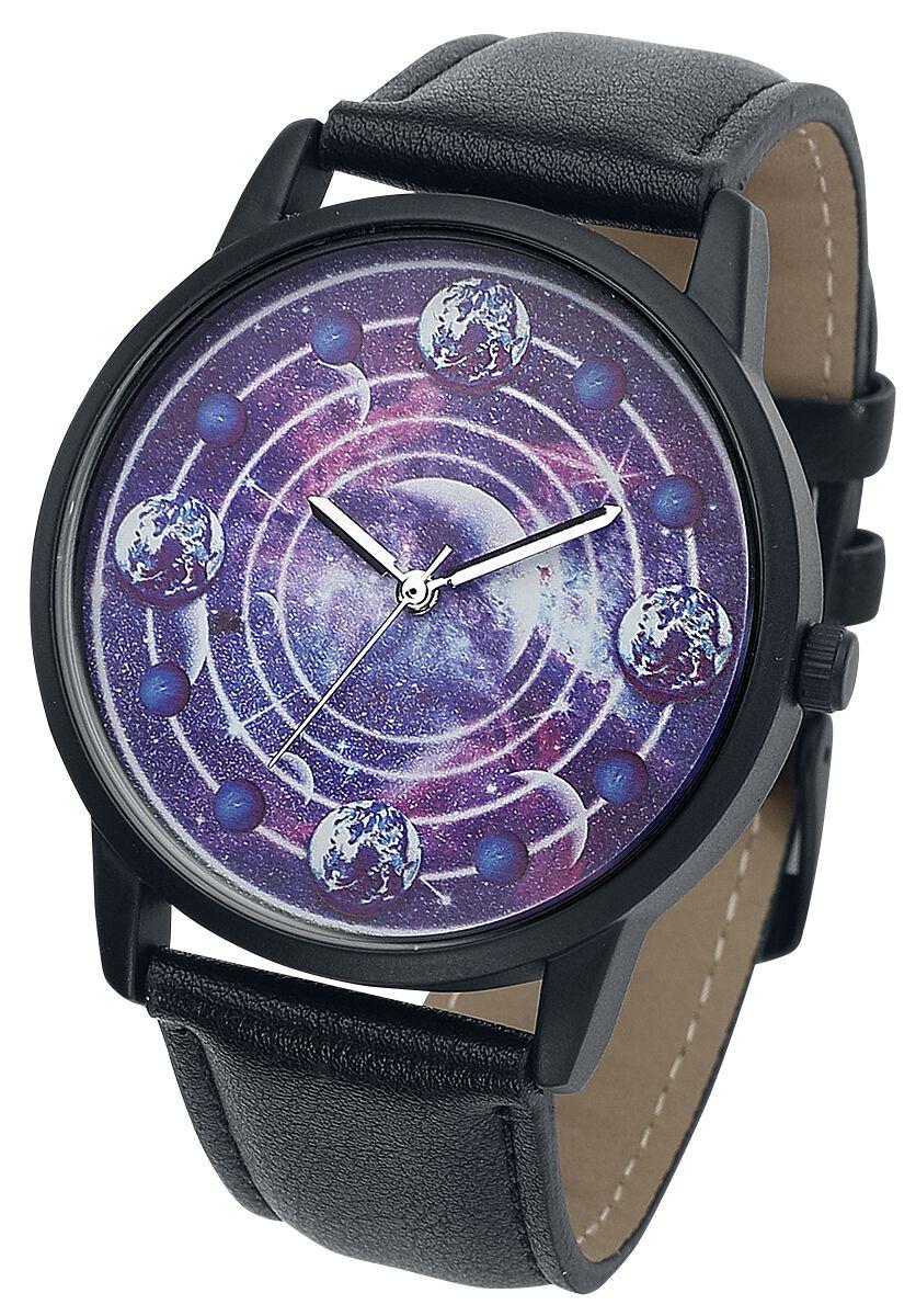 Basics - Zegarki na rękę - Zegarek na rękę Galaxy Zegarek na rękę czarny/jasnofioletowy - 363542