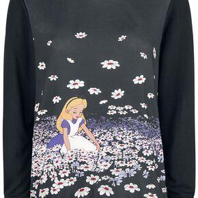 Alice Au Pays Des Merveilles Flowers Pull Femme multicolore