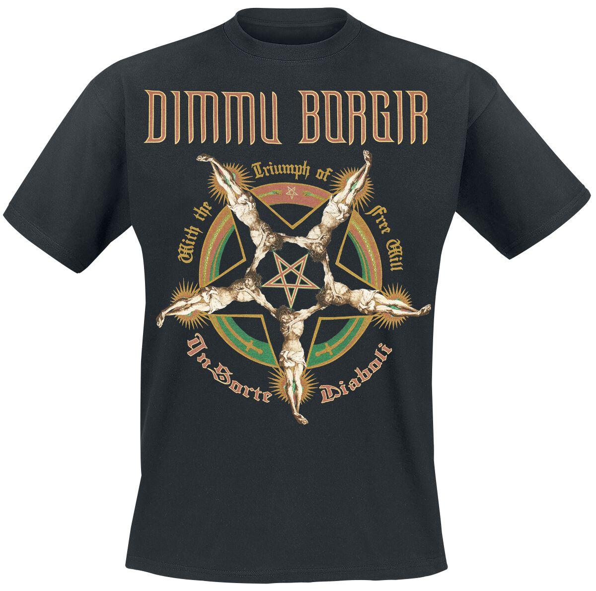 Zespoły - Koszulki - T-Shirt Dimmu Borgir Free Will T-Shirt czarny - 363555