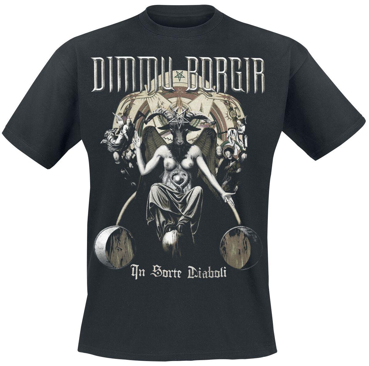 Zespoły - Koszulki - T-Shirt Dimmu Borgir In sorte diaboli T-Shirt czarny - 363556