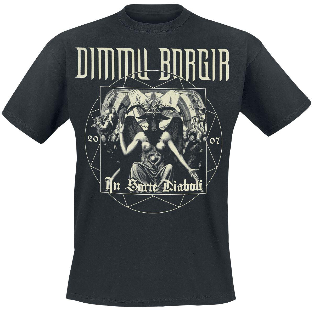 Zespoły - Koszulki - T-Shirt Dimmu Borgir In Sorte Diaboli Anniversary T-Shirt czarny - 363557