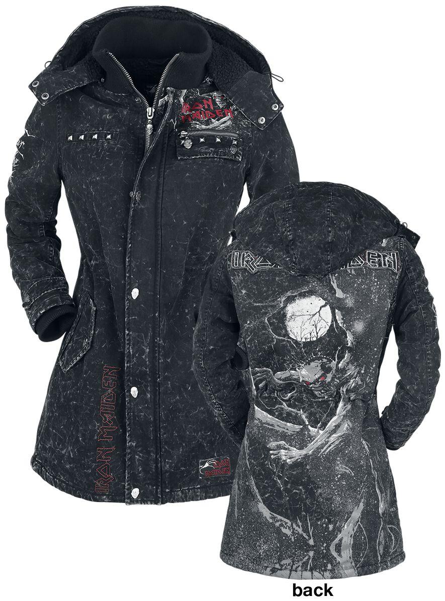 Image of   Iron Maiden EMP Signature Collection Girlie jakke mørk grå