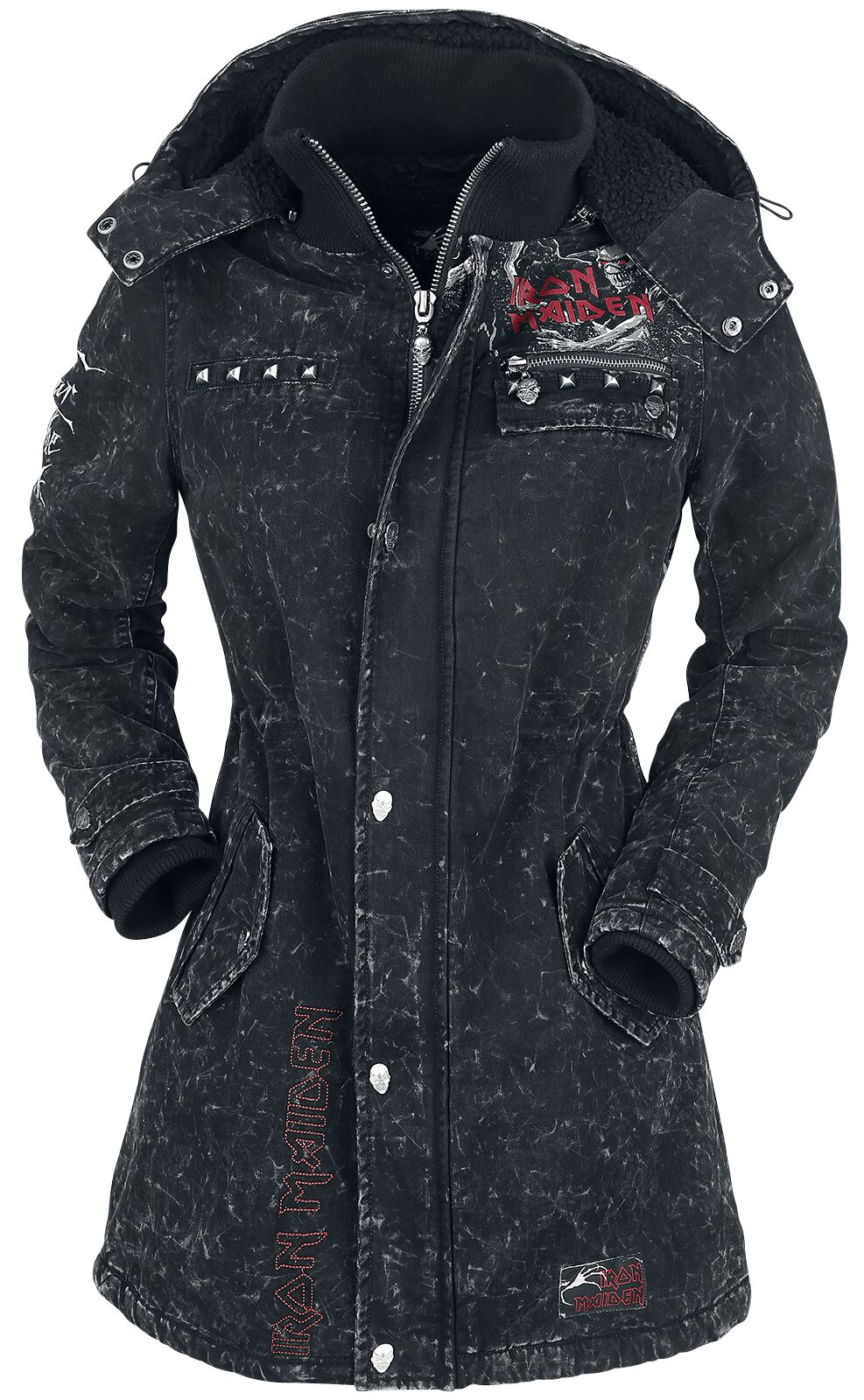 Image of   Iron Maiden EMP Signature Collection Girlie jakke mørk grå