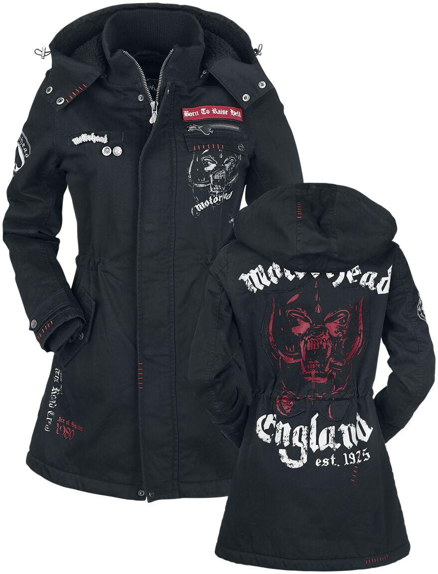 Image of   Motörhead EMP Signature Collection Girlie jakke sort