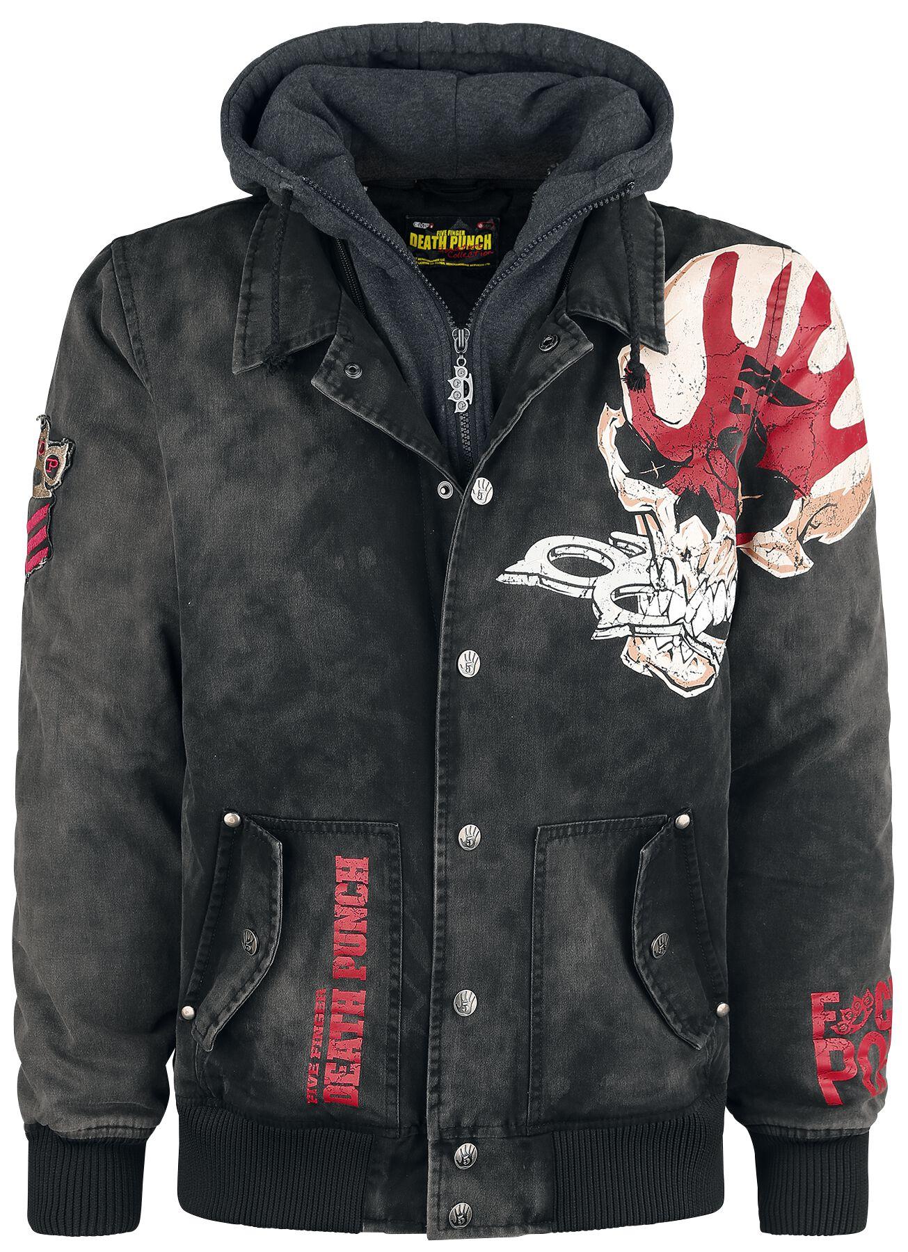 Image of   Five Finger Death Punch EMP Signature Collection Jakke sort