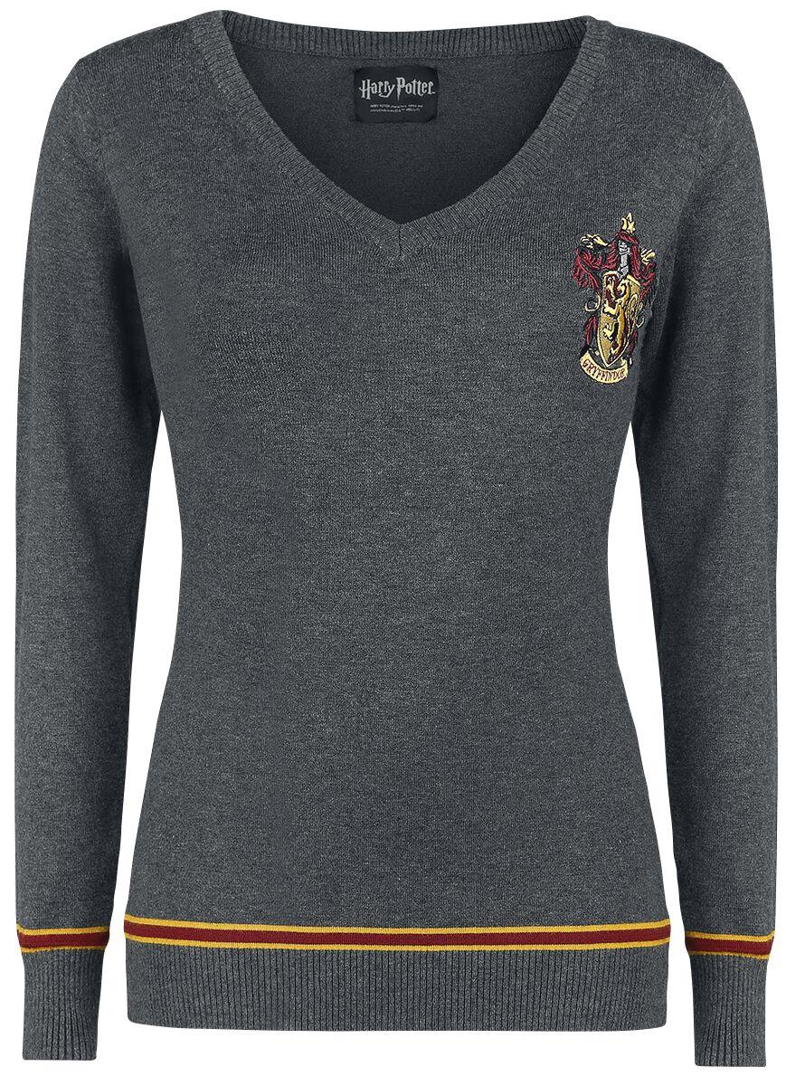 Image of   Harry Potter Gryffindor Girlie sweater grålig