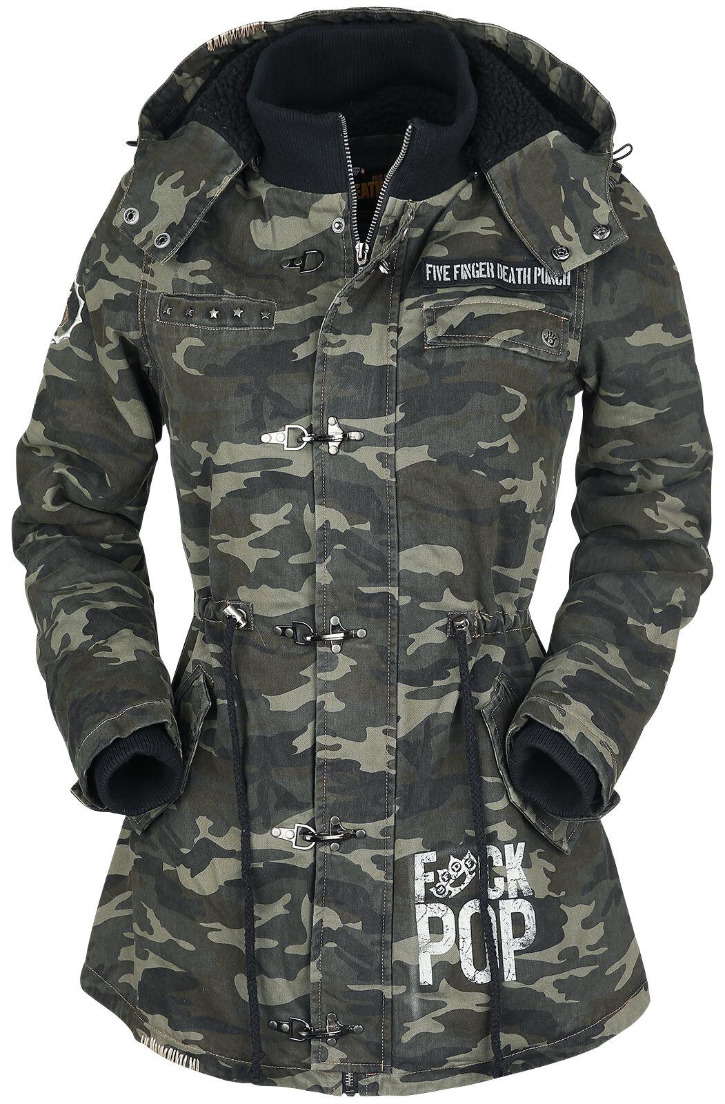 Image of   Five Finger Death Punch EMP Signature Collection Girlie jakke camouflage