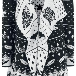 Les Animaux Fantastiques Niffler Cardigan pour Femme noir/blanc