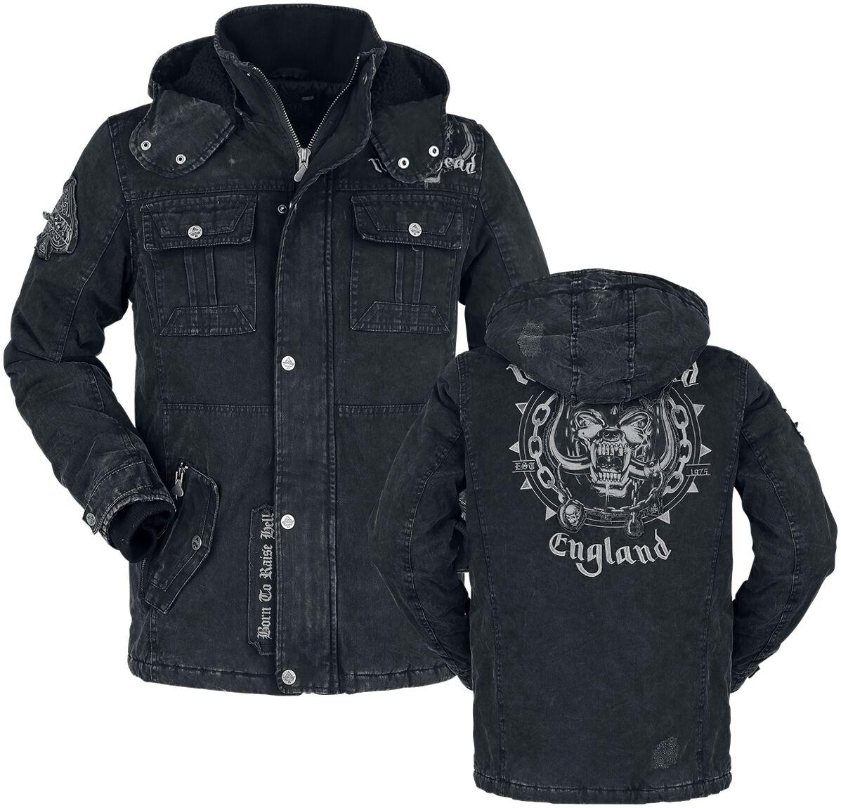 Image of   Motörhead EMP Signature Collection Jakke mørk grå