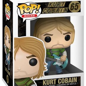 Figurine Pop! Rocks Kurt Cobain (Teen Spirit)