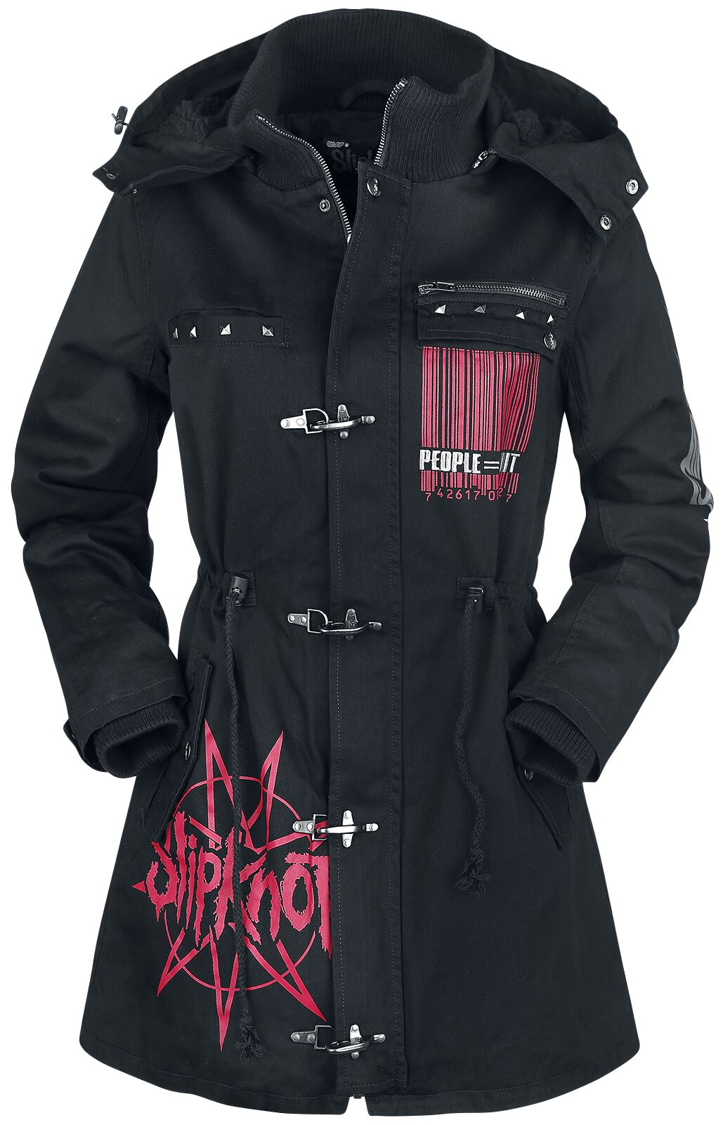 Image of   Slipknot EMP Signature Collection Girlie jakke sort