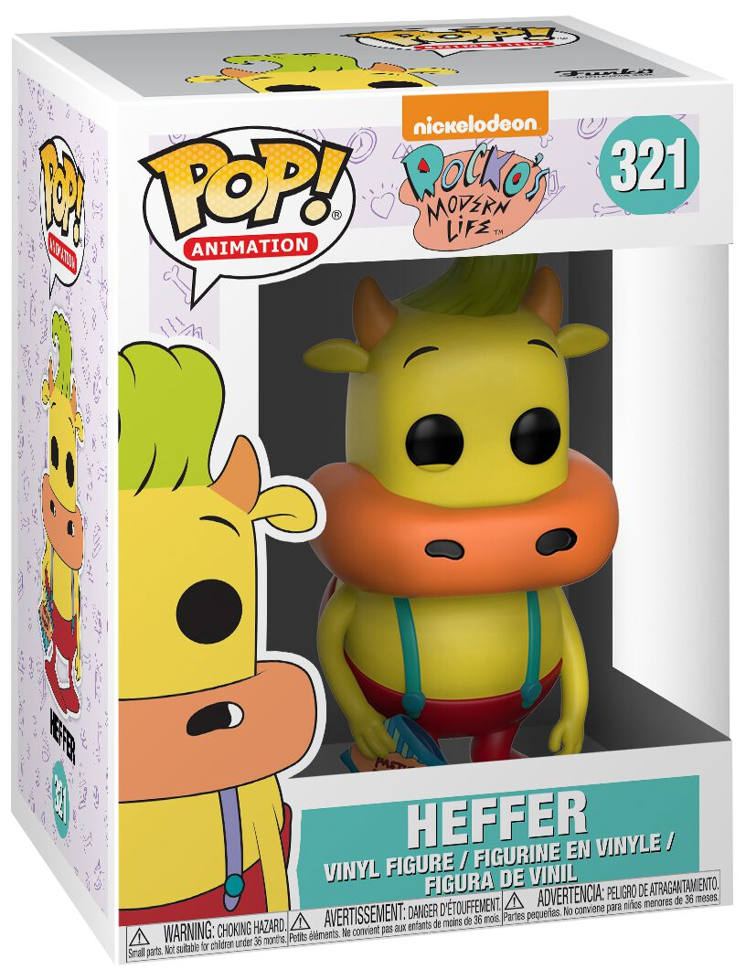 Image of   90's Nickelodeon Heffer (Limited Chase Edition) Vinyl Figure 321 Samlefigur Standard
