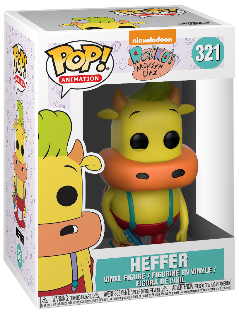 90's Nickelodeon - Heffer (Chase Edition Possible) Vinyl Figure 321 - Collector's figure - Standard