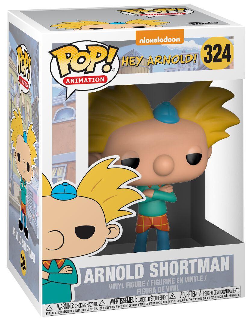 Image of   90's Nickelodeon Arnold Vinyl Figure 324 Samlefigur Standard