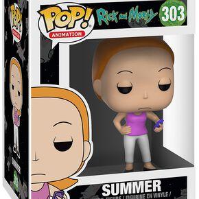 Figurine Pop! Summer Rick et Morty