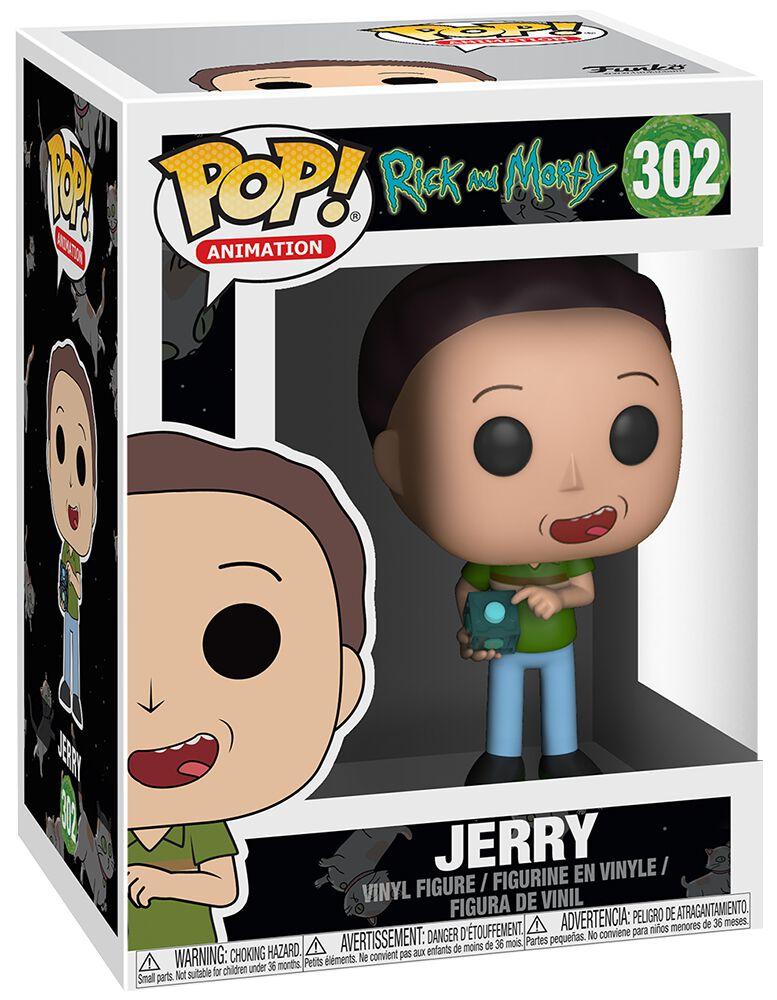 Image of   Rick And Morty Jerry Vinyl Figure 302 Samlefigur Standard