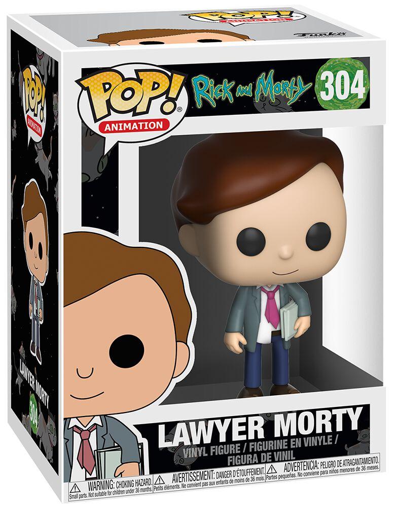 Image of   Rick And Morty Lawyer Morty Vinyl Figure 304 Samlefigur Standard