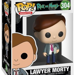 Figurine Pop! Morty Avocat Rick et Morty