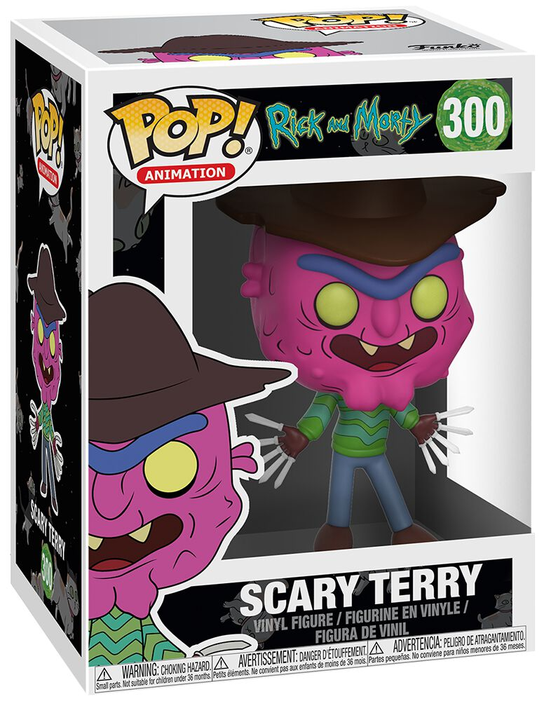 Image of   Rick And Morty Scary Terry Vinyl Figure 300 Samlefigur Standard