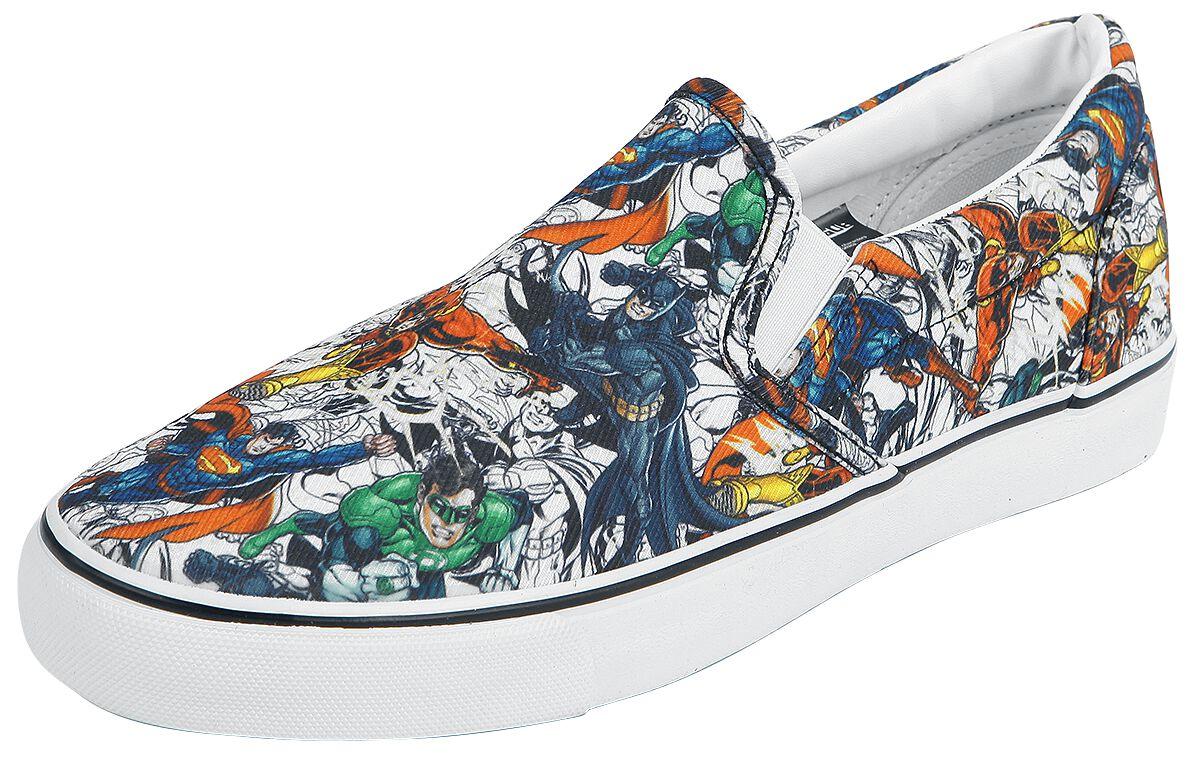 Image of   Justice League Charaktere Sneakers multifarvet