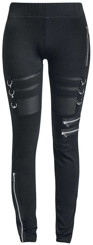 Marki - Spodnie długie - Legginsy Chemical Black Inka Leggings Legginsy czarny - 363973