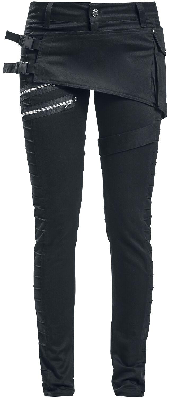 Marki - Spodnie długie - Spodnie damskie Chemical Black Ayra Pant Spodnie damskie czarny - 363992