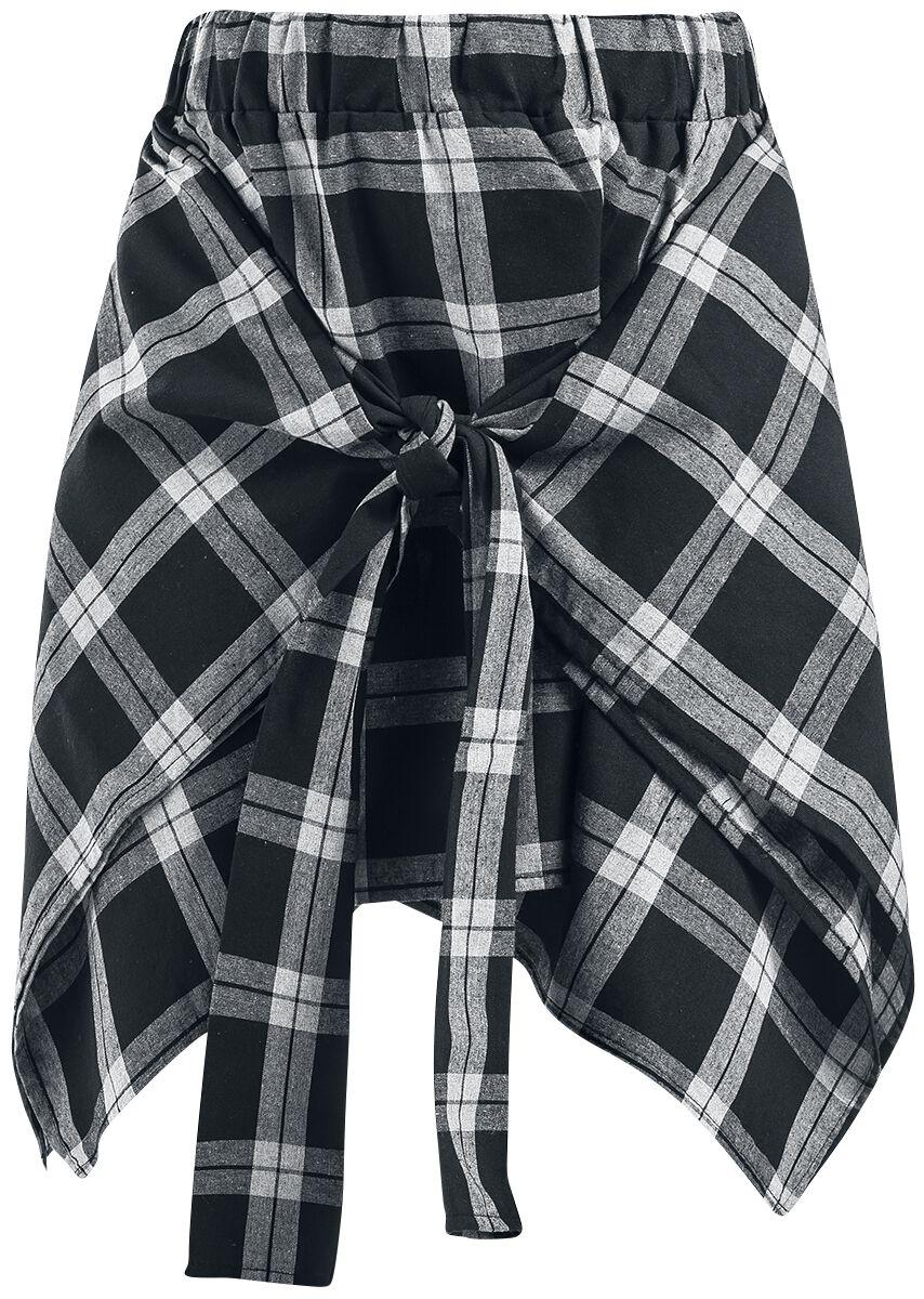 Marki - Spódnice - Spódnica Mini Chemical Black Alanis Skirt Spódnica Mini czarny/biały - 363995