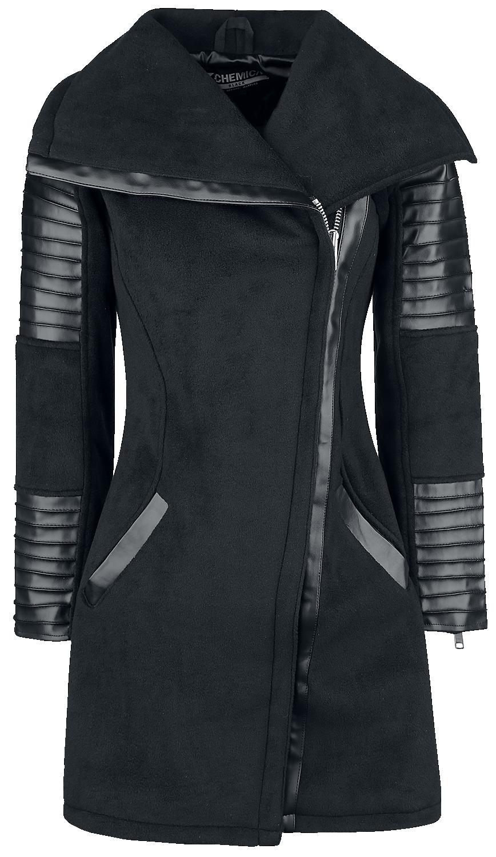 Rockabella Galina Coat Płaszcz damski czarny