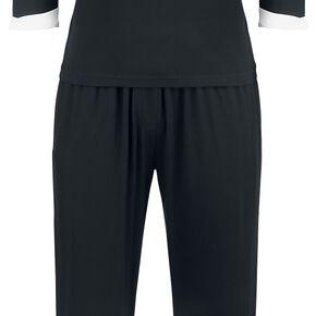 American Horror Story Cosplay Pyjama noir/blanc