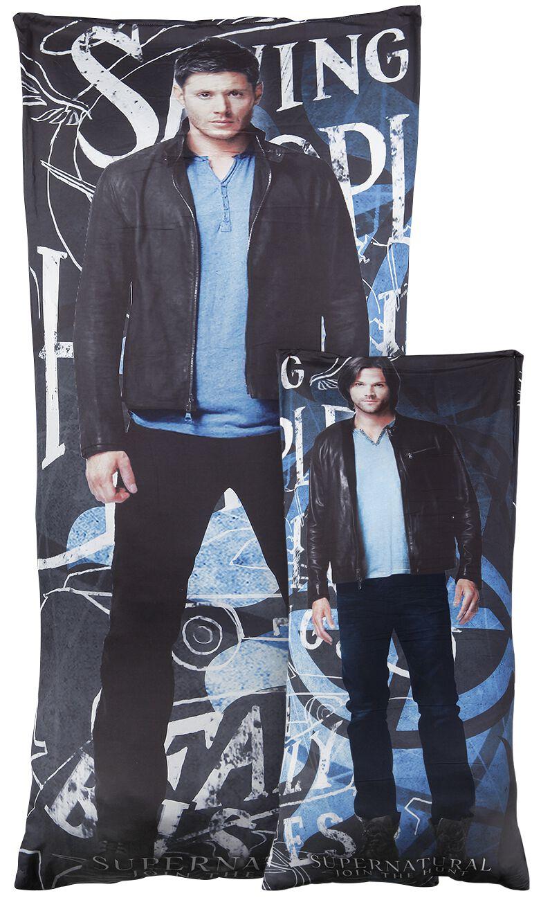 Image of   Supernatural Winchester Bros - Relax Kissen Dekorationspude multifarvet