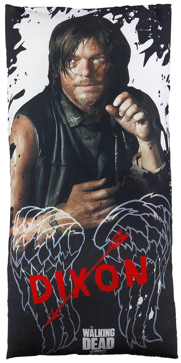 Image of   The Walking Dead Daryl Dixon - Born To Ride T-Shirt blandet lys grå