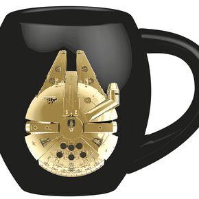 Star Wars Episode 8 - The Last Jedi - Vehicles Mug noir/or