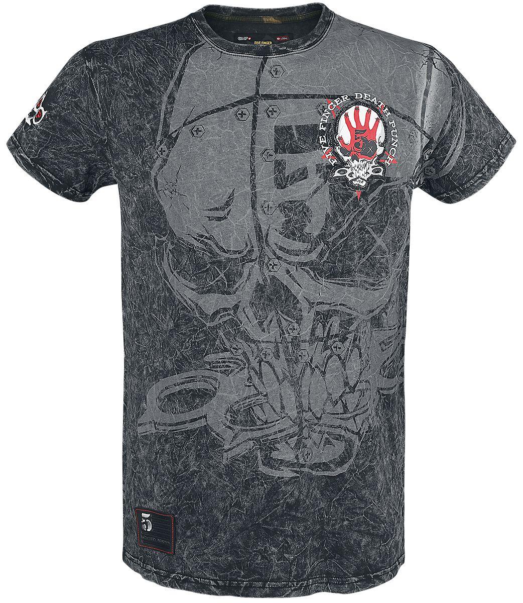 Image of   Five Finger Death Punch EMP Signature Collection T-Shirt mørk grå