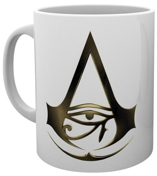 Image of   Assassin's Creed Origins - Logo Krus hvid
