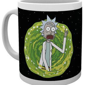 Rick & Morty Your Opinion Mug blanc