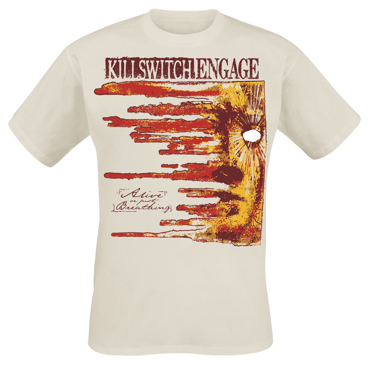Zespoły - Koszulki - T-Shirt Killswitch Engage Alive Or Just Breathing 15th Anniversary T-Shirt naturalny - 364380