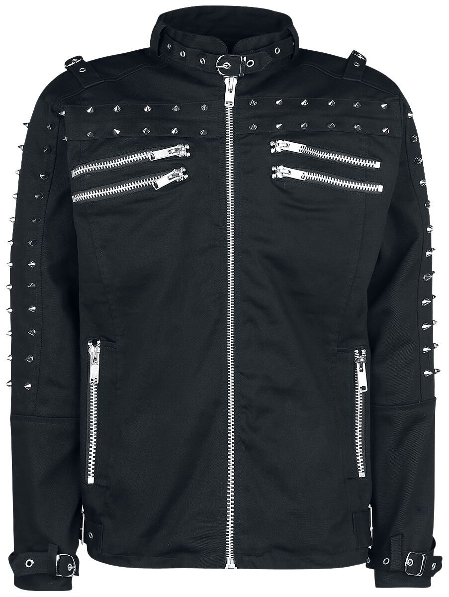 Marki - Kurtki - Kurtka Chemical Black Gaston Jacket Kurtka czarny - 364383