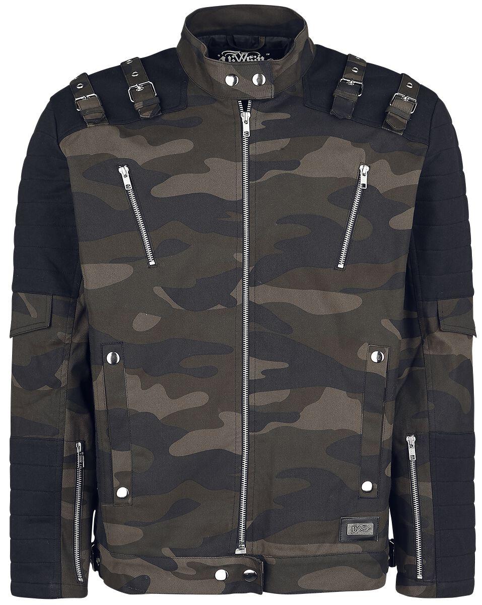 Image of   Vixxsin Joyride Jacket Jakke camouflage